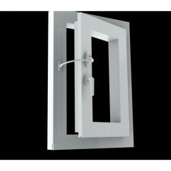 Lango atvėrimo ribotuvas lango užraktas su spynele
