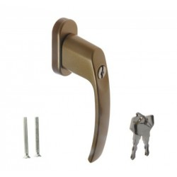 Logu rokturis ar slēdzeni