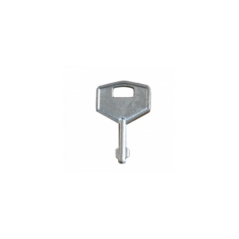 Запасной ключ для оконных замков с замком