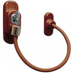 Loga blokators ar atslēgu (gaiši brūns)