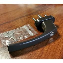 Logu rokturis ar slēdzeni brūns