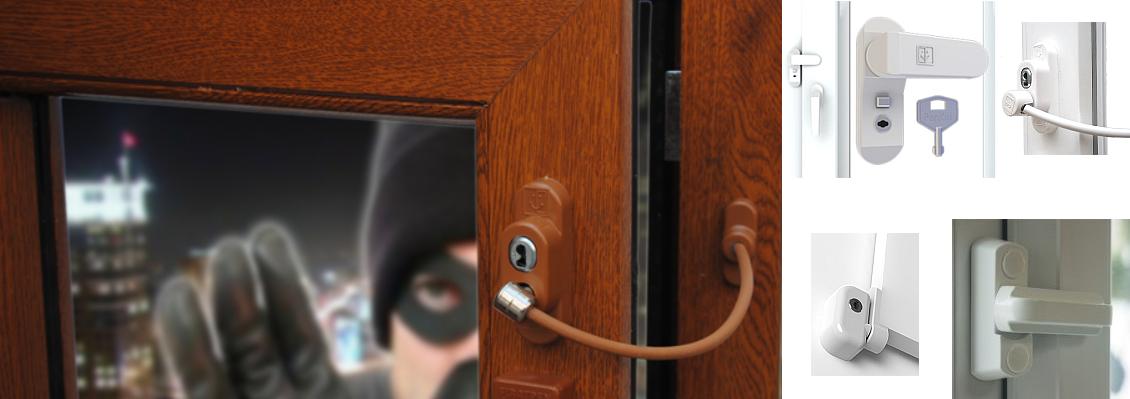 Logu slēdzenes, drošības slēdzenes